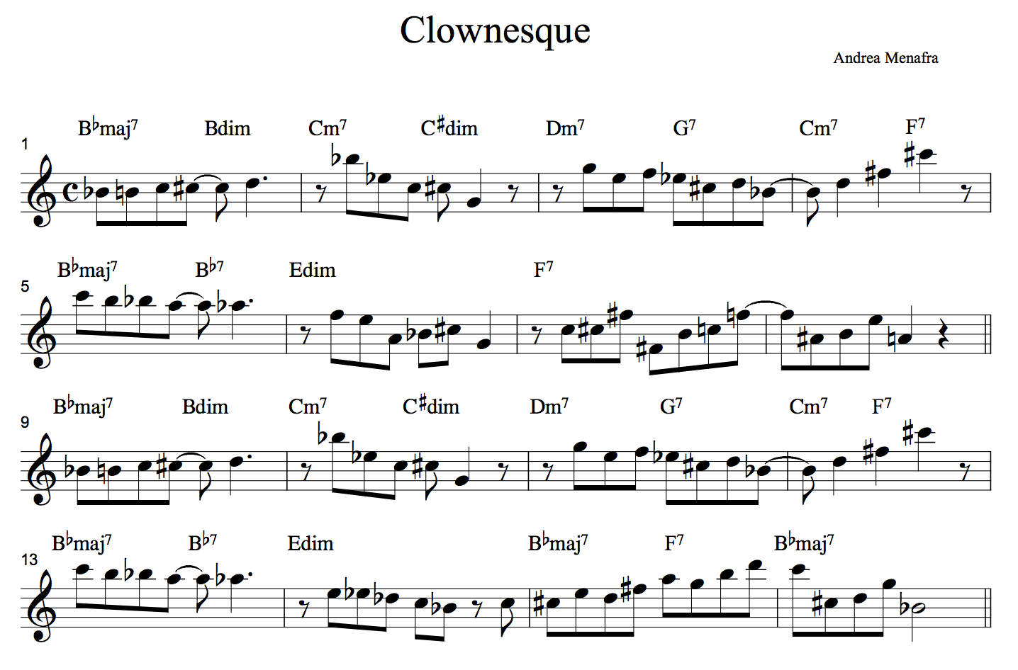 Clownesque - Andrea Menafra